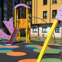 Arbero. Детские площадки с использованием оборудования фабрики Galopin