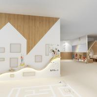 Шорт-лист конкурса АрхиКлиника. Проект: Радуга. Автор: Чумичкина Екатерина
