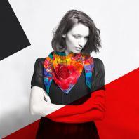Шелковый платок «Великая Утопия». Дизайн-студия Baklazanas