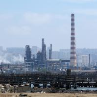 Фотофиксация существующего состояния территории промышленной прибрежной зоны г. Баку. 2016 г.