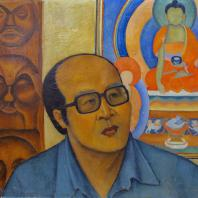 Портрет отца, 1980 г., Индира Балдано