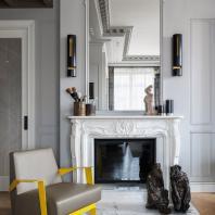 Квартира на «Золотой Миле». Елизавета Медведева. Диплом в номинации «Реализованный жилой интерьер. Квартира более 100 кв. м.»