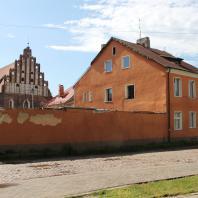 Старый город в Правдинске, бывш. Фридланде (Калининградская область)