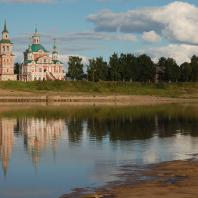 Церковь Симеона Столпника в Великом Устюге (Вологодская область). 1725-1765 гг.