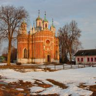 Спасо-Преображенская церковь в усадьбе Красное (Тверская область). 1785-1790 гг.