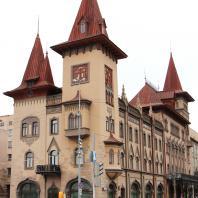 Здание консерватории в Саратове. 1900-1912 гг.