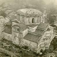 Н.И. Брунов. Монастырь Бронтохион. Церковь Святых Феодоров. Греция, Мистра. 1924