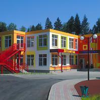 Build School 2018: Модульный детский сад в поселке Зеленоградский