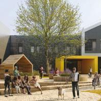 Бронзовый диплом Build School Project 2020: Международная школа Tumo. Москва, Мантулинская, 7С3. Проектная организация: CNTEZ Architects
