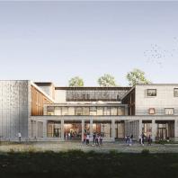 Бронзовый диплом Build School Project 2020: Школа «Золотое сечение». Москва. Проектная организация: ООО «АйЭнДи Аркитектс»