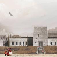 Диплом I степени «За лучший студенческий проект» Build School Project 2020: Школа в Дагестане. Студент - Елизавета Абдуллаева. Московский архитектурный институт (Государственная академия)