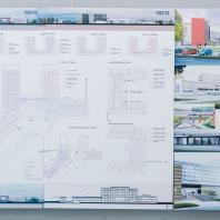 Проект центральной районной больницы проектной мощностью на 400 коек. ООО «Профиль», г. Санкт-Петербург