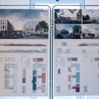 Проект центральной районной больницы проектной мощностью на 240 коек. ООО «Гинзбург и Архитекторы», г. Москва