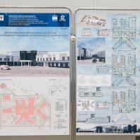 Проект центральной районной больницы проектной мощностью на 240 коек. АО «ГИПРОЗДРАВ», г. Москва