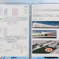 Проект центральной районной больницы проектной мощностью на 80 коек. ООО «Профиль», г. Санкт-Петербург