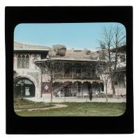 Посторйки Ханского дворца в Бахчисарае. Диапозитив Карла Элофа Берггрена