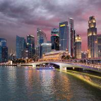 Cox Architects: Jubilee Bridge, Marina Bay, Singapore