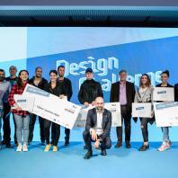 Дизайн-конкурс одного дня Roca One Day Design Challenge. 2018 г. Общее фото всех награжденных и жюри