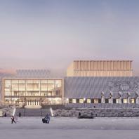 Дворец культуры в г. Якутск. Проект реконструкции
