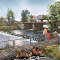 Проект регенерации и развития территории поймы и прилегающих территорий реки Свияги. ГАУ МО «НИиПИ градостроительства»