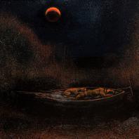 Феликс Петуваш. Лунное затмение. 2019. Холст, масло. 83х127 см. Коллекция Юлии Вербицкой (Линник)