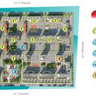 Генеральный план 8-го микрорайона жилого района «Восточный» в Устиновском районе г. Ижевск