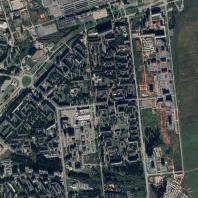 Спутниковая съёмка конкурсной и прилегающей территории. Источник: Google Maps