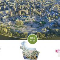 О радиально-кольцевой структуре плана города Глазова