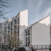 «Золотой Трезини 2019». Лучший реализованный проект апартаментов / Многофункциональный комплекс Grani (Санкт-Петербург), «Институт территориального развития»