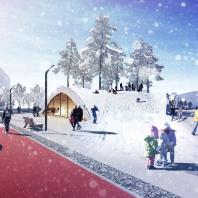 «Золотой Трезини 2019». Лучший проект ландшафтного дизайна / Парк будущих поколений в Якутске (Республика Саха), архитектурное бюро ASADOV