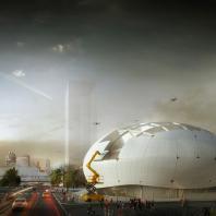 «Золотой Трезини 2019». Лучший архитектурный проект музея / Научный музей роботов (Сеул, Южная Корея), архитектурное бюро Melike Altinisik Architects (MAA)