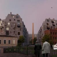 Лучший проект жилого комплекса премиум- или бизнес-класса. Meltzer Hall (Россия, Санкт-Петербург), архитектурное бюро «Студия 44», застройщик Alfa Faberge