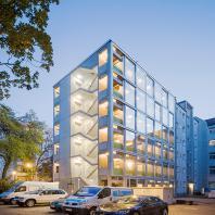 Лучший построенный жилой комплекс комфорт-класса. Wohnregal (Германия, Берлин), FAR frohn&rojas