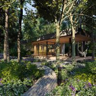 Лучший проект озеленения и ландшафтного дизайна. «Аникин» (Россия, Пенза), студия DEREVO PARK
