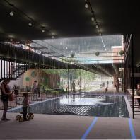Специальный приз от ЮИТ за лучшую организацию архитектурной среды для устойчивого развития города. Архитектурная концепция развития бывшей заводской территории на Кожевенной линии (Россия, Санкт-Петербург), Архитектурное бюро «Клаузура»