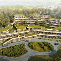 Комплекс апартаментов Amber Residence в Янтарном (Россия, Калининградская область), архитектурное бюро ASADOV