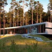 «Дом без границ» (Россия, Ленинградская область), мастерская Д12 совместно с архитектором Татьяной Соловьевой