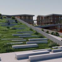Жилой квартал с озеленением в городской среде (Аргентина, Энтре-Риос), архитектор Рамиро Сольдера