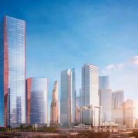Высотный офисный центр А-класса iCity по проекту Хельмута Яна в «Москва-Сити»