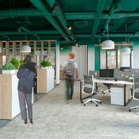 Конкурсный проект на лучшую дизайн-концепцию «Дом для НТВ». Архитектурное бюро UNKproject
