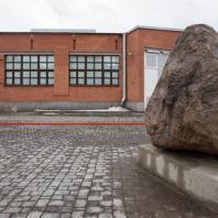 Конкурс на разработку архитектурной композиции под открытым небом, посвящённой героям сопротивления в концлагерях и гетто в годы Второй мировой войны. Материалы фотофиксации: Вид со стороны Новосущёвского переулка