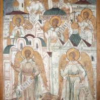 Символы семи церквей. Фресковая живопись Троице-Макарьева монастыря