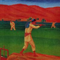 Николай Карахан. Поливальщики. 1930