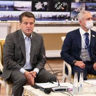 Заседание жюри международного архитектурного конкурса концепций развития территории на правом берегу реки Казанки. Казанская Ратуша, 29 июня 2021 года. Фото: Денис Гордийко