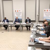 Заседание жюри конкурса на разработку концепции центрального парка Красноярска. 12 октября 2020 г.