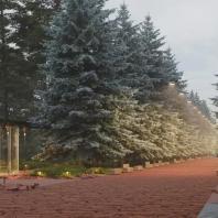 Концепция развития Центрального парка им. Горького в Красноярске. Консорциум под лидерством архитектурного бюро «Базис»