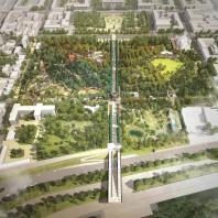 Концепция развития Центрального парка им. Горького в Красноярске. Консорциум под лидерством MAP architects