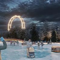 Концепция развития Центрального парка им. Горького в Красноярске. Консорциум под лидерством MLA+