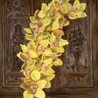 Е. Лукьянова. Желтые орхидеи