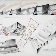 Архитектор М.П. Коржев. Из фондов Государственного музея архитектуры имени А.В. Щусева